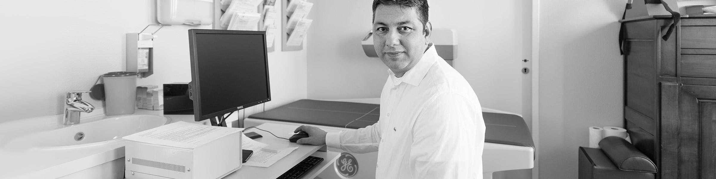 Dr. A. Din Behandlung Gallenblase